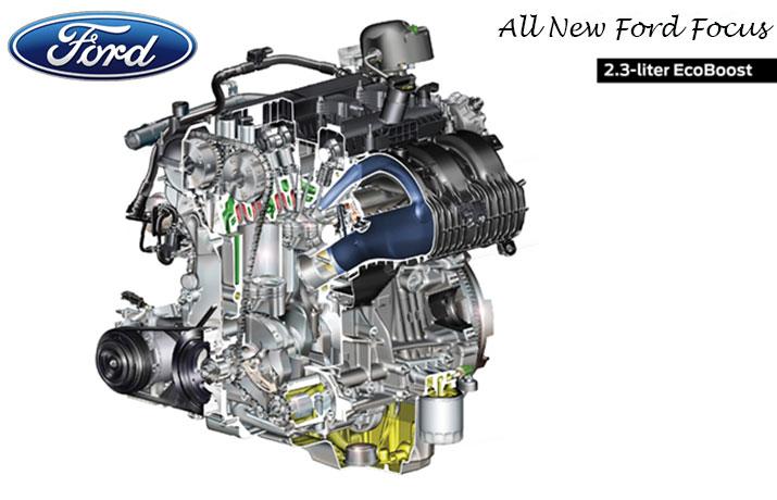 Ford Focus 2.3 litre Ecoboost engine