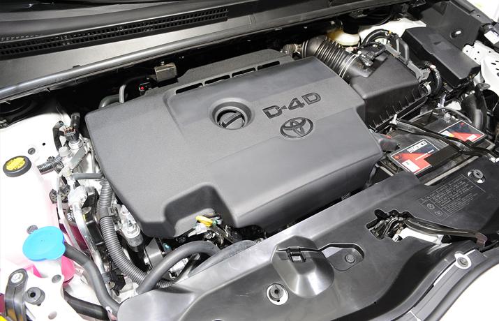 Toyota Verso Engine