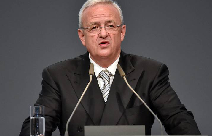 Chief Executive Martin Winterkorn